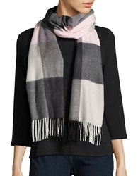 Lord And Taylor Fringed Plaid Blacket Wrap