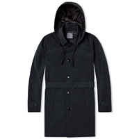 Journal Standard Aqualinc Pertex Trench Coat Navy