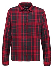 Ltb Enikose Blouse Red Black Check