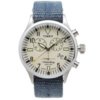 Timex Archive Waterbury Chrono Watch Blue