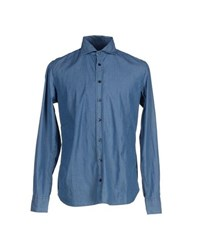 Malo Denim Denim Shirts Men