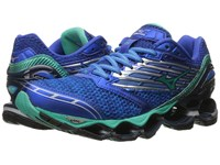 Mizuno Wave Prophecy 5 Diva Blue Electric Green Dazzling Blue Women's Running Shoes
