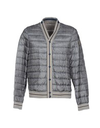 Montecore Coats And Jackets Down Jackets Men Grey