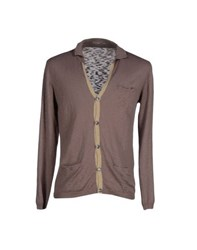Officina 36 Knitwear Cardigans Men Light Brown