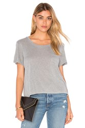 Frame Denim Le Easy Tee Gray