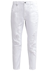 Only Onltonni Relaxed Fit Jeans White