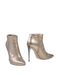 Gianni Marra Shoe Boots Silver