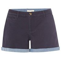 White Stuff Aztec Shorts Navy