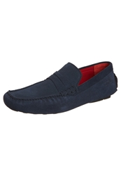 Melvin And Hamilton Driver Moccasins Blue