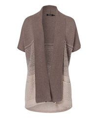 Olsen Short Sleeves Cardigan Dark Brown