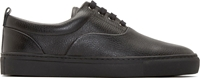 Surface To Air Black Alex Plimsoll Sneakers