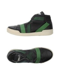 Barracuda Footwear High Tops And Trainers Men Black