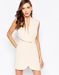 Finders Keepers Dreaming Of You Dress In Nude Beige