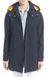 Women's Vince Camuto Hooded Fly Front Stadium Jacket