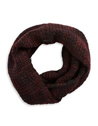 John Varvatos Textured Knit Loop Scarf