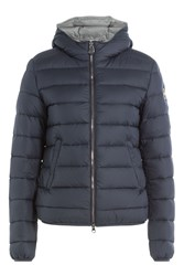Colmar Odyssey Quilted Down Jacket With Hood Blue