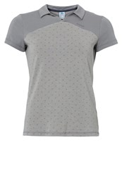 Odlo Shift Polo Shirt Grey Melange