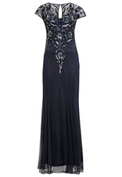 Frock And Frill Occasion Wear Navy Dark Blue