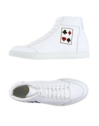 Alberto Moretti Footwear High Tops And Trainers Men White