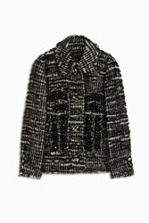 Simone Rocha Women S Tufted Tweed Jacket Boutique1 Multi