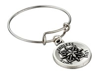 Alex And Ani Expandable Ring Silver Healing Love Ring