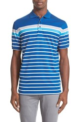 Paul And Shark Men's Regular Fit Stripe Polo