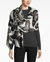 Inc International Concepts Butterfly Print Scarf Only At Macy's Ivory