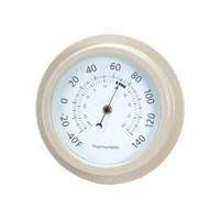 Garden Trading Rockall 8 Inch Thermometer Clay