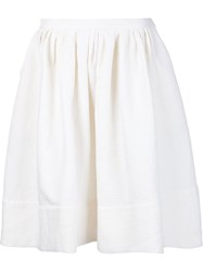 Vanessa Bruno Full Skirt White
