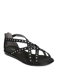 Aerosoles Chlosing Time Zipped Sandals Black