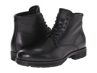 Aquatalia By Marvin K Harvey Black Tumbled Waxy Pull Up Men's Lace Up Boots