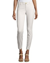 Minnie Rose Skinny Ankle Pants Concrete