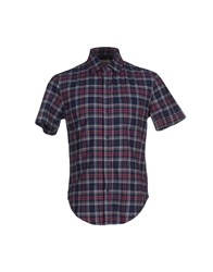 Band Of Outsiders Shirts Shirts Men Blue