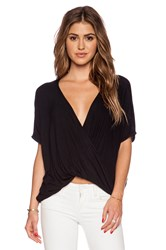 Sen Teagan Shortsleeve Top Black