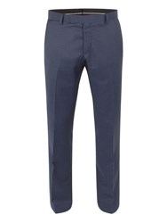 Racing Green Bentley Pindot Suit Trouser Blue