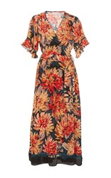 Tryb212 Ella Floral Wrap Dress