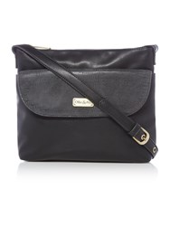 Ollie And Nic Lenny Black Crossbody Bag Black