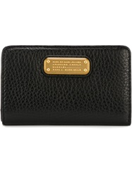 Marc By Marc Jacobs Logo Plaque Wallet Black
