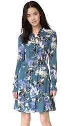 Bb Dakota Jack By Ashlene Didion Printed Dress Juniper Green