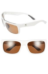 Women's Zeal Optics 'Essential' Polarized Plant Based Sunglasses White Gloss