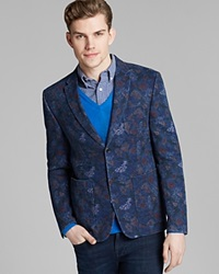 Shipley And Halmos Irving Blazer Midnight Floral