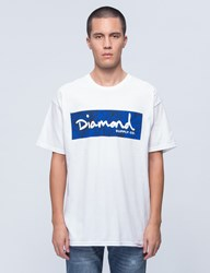 Diamond Supply Co. Flock Print Radiant Box Logo S S T Shirt