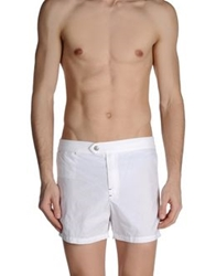 Roda Swimming Trunks White