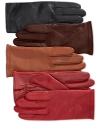 Charter Club Tech Palm Fleece Lined Gloves Only At Macy's Java