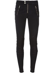 Diesel Zipped Pockets Skinny Jeans Black