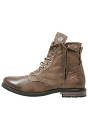 Sneaky Steve Kingdom Laceup Boots Moss Taupe