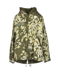 Jo No Fui Jackets Military Green