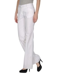 57 T Casual Pants White