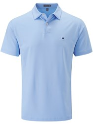 Peter Millar Solid Stretch Polo Light Blue