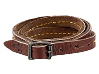 Frye Campus Wrap Cuff Walnut Dakota Bracelet Brown